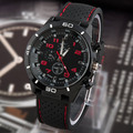 2016 новый Повседневная Кварцевые часы мужчины военные Часы спорт Наручные Часы Dropship Силиконовые Часы Fashion Часы