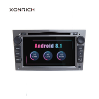 2 Din Android 8.1 Car Multimedia Player For Opel Vectra C Zafira B Corsa D C Astra H G J Meriva Vivaro GPS Navigation Radio 2 GB