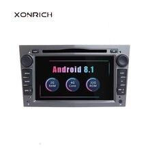 2 Din Android 8,1 автомобильный мультимедийный плеер для Opel Vectra C Zafira B Corsa D C Astra H G J Meriva Vivaro gps навигации радио ГБ