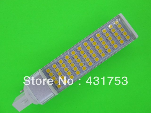 LED Bulb 12W E27 G24 5050 SMD 60 LED Corn Light Lamp Cool White/Warm White AC 85V-265V Side lighting( High Brightness )
