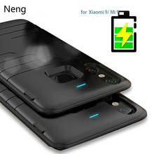 Neng 6800mAh Battery case For Xiaomi Mi 9 Ultra Slim Silicone shockproof Power Bank Case For Xiaomi Mi9 Global Full battery case
