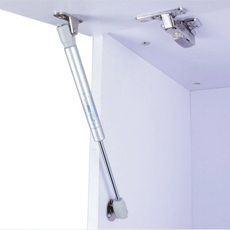 100N /10kg Pneumatic Rod Cushion Retractable Gas Support door hinges Soft Kitchen Cupboard Hinges Lid Stays Open/Close