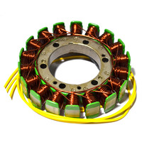 Motorcycle Generator Parts Stator Coil Comp For HONDA Steed 400