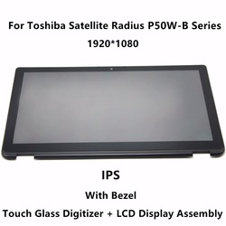 15 6 ips panel lcd screen touch glass digitizer assembly bezel for toshiba satellite radius p55w.jpg 250x250