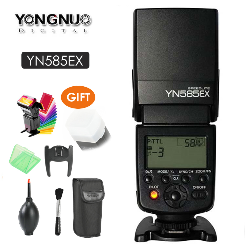 все цены на YONGNUO YN585EX P-TTL Wireless Flash TTL Speedlite for Pentax K-70 K-50 K-1 K-S1 K-S2 645Z K-3 K-5 II K-30 DSLR Cameras