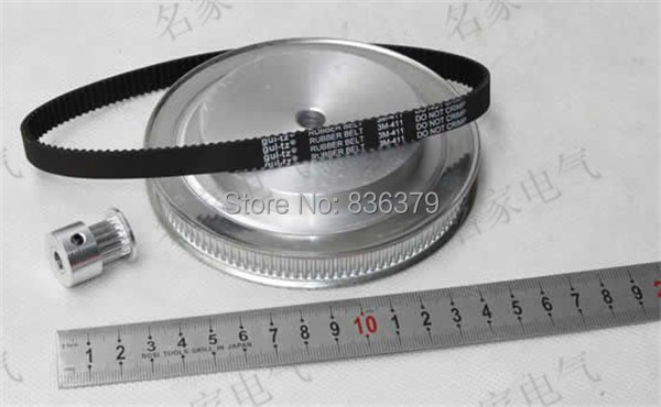 ФОТО CNC ROUTER Timing belt pulleys/Synchronous belt the suite of Synchronous belt 5M(4:1)
