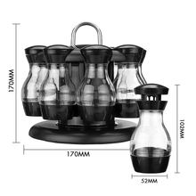 1 Layer/2 Layers 360 Rotating Spice Jar Rack Kitchen Countertop Display Organizer Bottle Holder Stand Shelf Jars