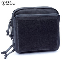 TTGTACTICAL Tactical MOLLE EDC Pouch Army Molle Utility Map Admin Pack Tactical Backpack Accessory Bag