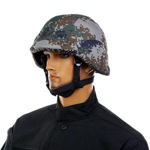 Image 2 - CCGK Пуленепробиваемый Шлем современный воин тактический M88 ABS шлем с регулируемым подбородком ремень IIIA с тестовым отчетом самообороны
