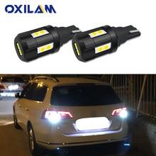 2x W16W LED Bulb Reverse Light For Volkswagen VW CC GTI Passat B7 Back Up Car Lamp 912 921 T15 Canbus No Error White 12V