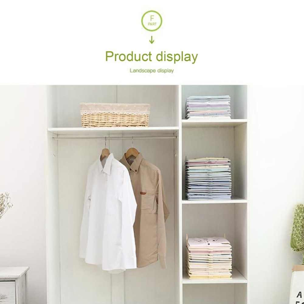 ... Multifunctional Durable Plastic Laundry Storage Fold Board Unique  Clothing Shelves Stacked Board Organizer Tools ...