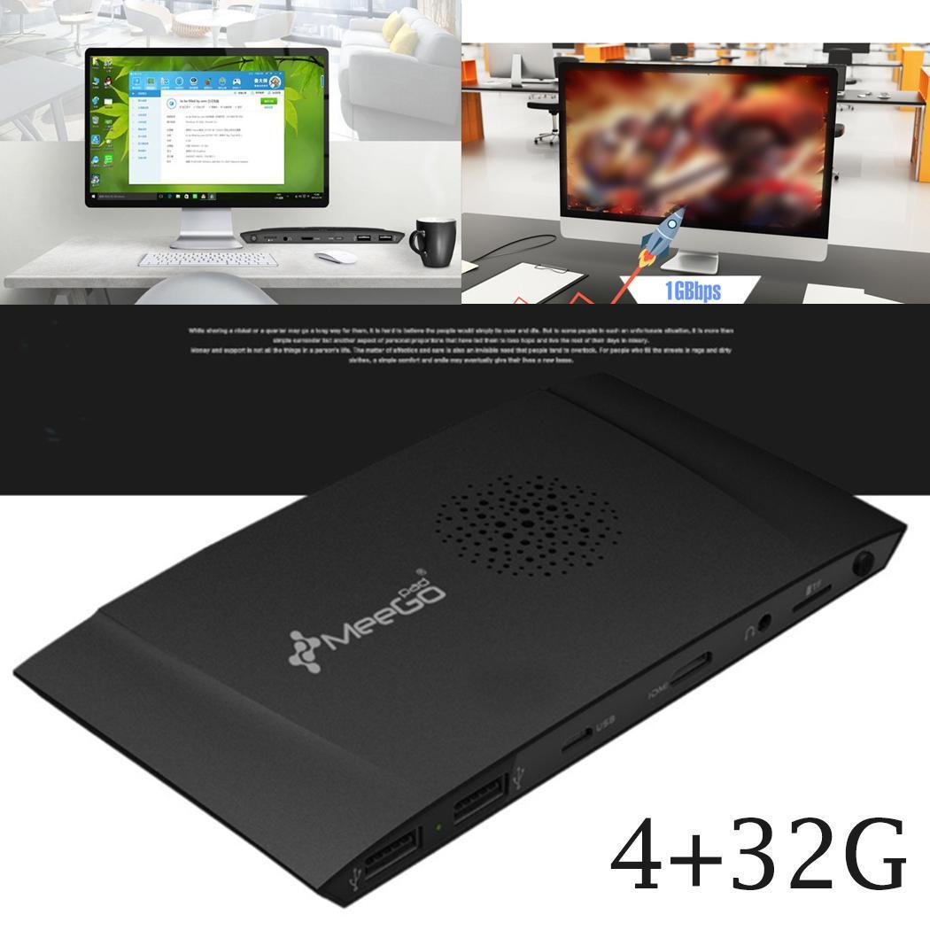 Quad Core Mini PC Box Licensed Windows Genuine Home 0.25KG 10 Black Home Official Compute Stick With Type-C