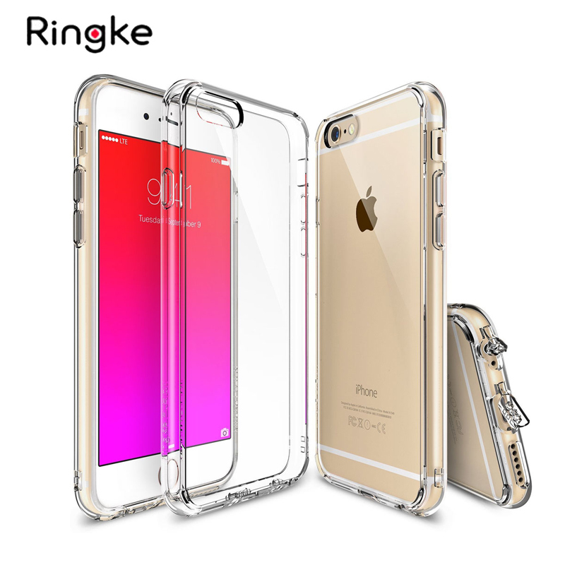 Ringke Fusion Phone Case for iphone 6 Case Clear Hard Cover and Flexible TPU Frame for iPhone 6 Plus Case and 6S Plus CaseRingke Fusion Phone Case for iphone 6 Case Clear Hard Cover and Flexible TPU Frame for iPhone 6 Plus Case and 6S Plus Case