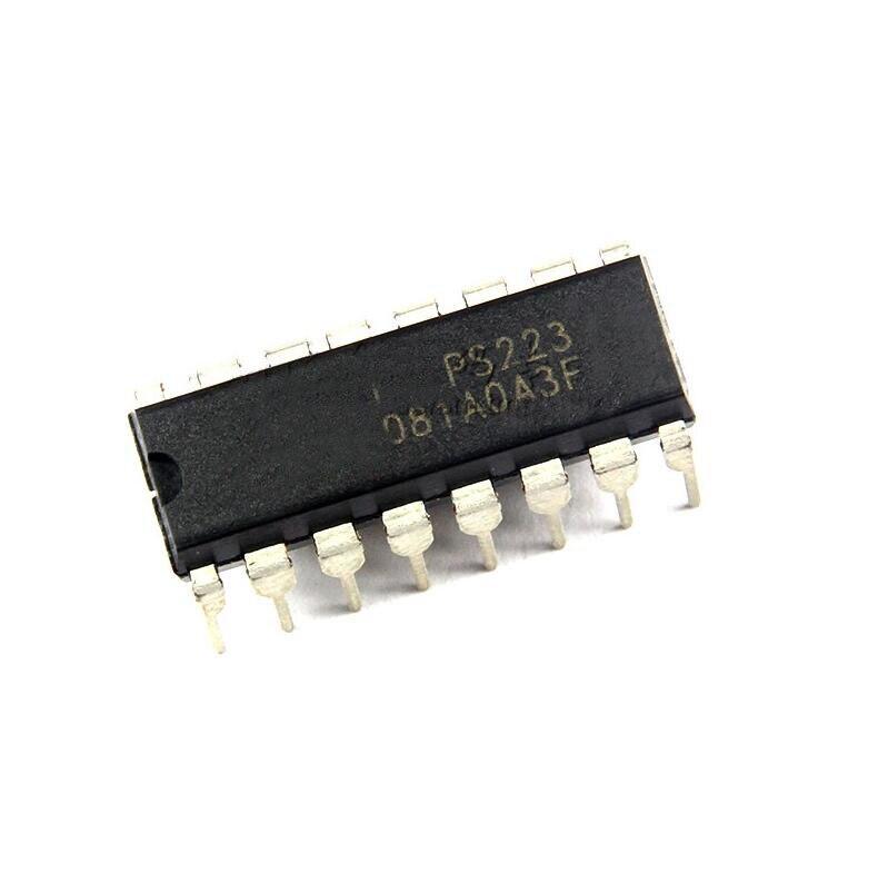 5pcs PS223 DIP16 PS 223 DIP-16 DIP New LCD Power Driver Chip Power Chip IC