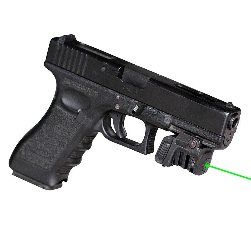 Прямая поставка 600 ярдов видимость 532нм 5 мВт зеленый лазерный прицел в ночное время