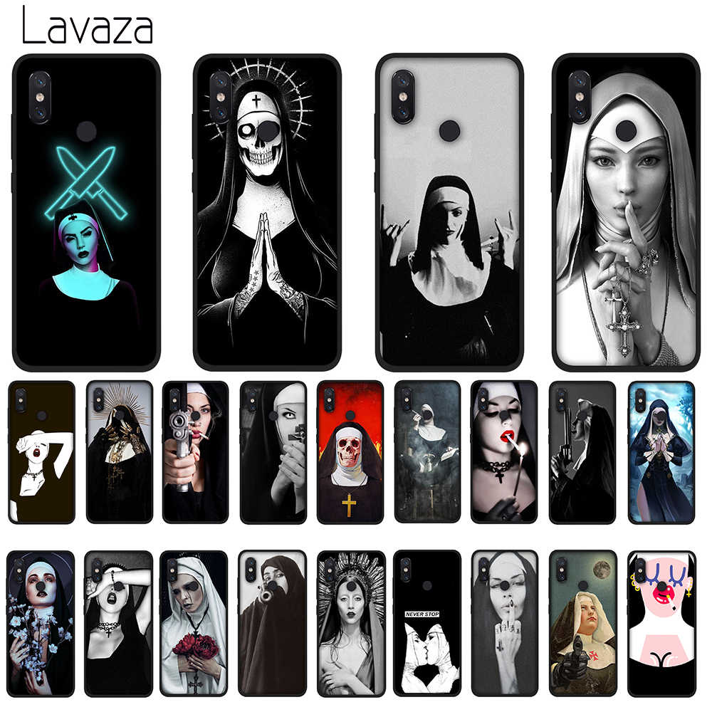 Lavaza Sister Nun Soft Case for Huawei Y7 Prime Y9 Y6 2018 Nova 3 3i for Honor 7A 8X 8C 8 9 10 Lite TPU Cover