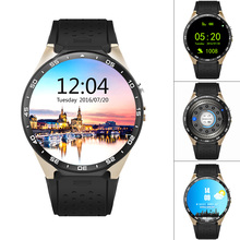 XGODY KW88 Android 5.1 Smart Watch Phone SIM Quad Core 4GB+512MB GPS Heart Rate Wifi Reloj inteligente Smartwatch For Men 2pcs