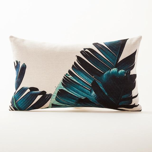 Tropical Faith Palm Cushion Cover  6
