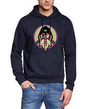 Dragon Ball Z Master Roshi Printed Hoodie Sweatshirt