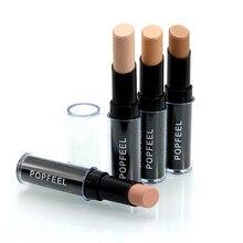 Hot Femal Makeup Natrual Cream Face Lips Concealer Highlight Contour Pen Stick Daily Makeup DIY Free Shipping