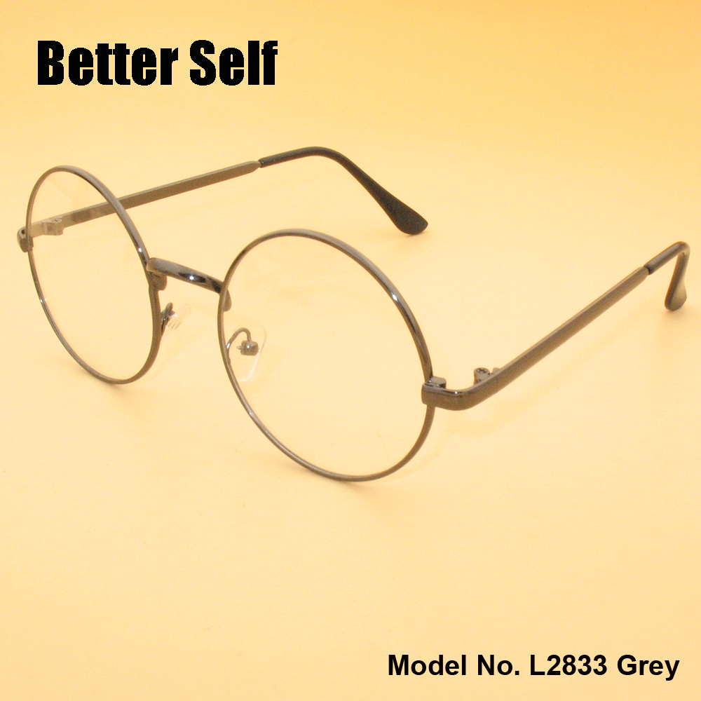 3f17f003968 Round Glasses Full Rim Eyeglasses Metal Spectacles Retro Optical Frames  Better Self Stock L2833-in Eyewear Frames from Apparel Accessories on  Aliexpress.com ...