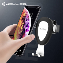 Jellico Gravity Car Phone Holder For Phone In Car Air Vent Mount Stand No Magnetic Auto