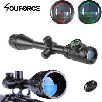 Tactical 6-24X50AOEG Green/Red dot Rangefinder with Holographic Reticle Sight and 20mm Mount Ring fit Hunting Rifle - SALE ITEM Sports & Entertainment