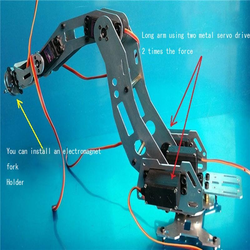 6 DOF robot arm six-axis 5_