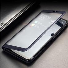 for Xiaomi Mi 8 Case Full View Window PU