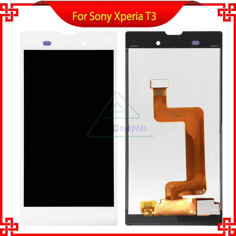 Подробнее о For Sony Xperia T3 M50W D5103 D5106 LCD Display Touch screen with Digitizer Assembly Free tools replacement part White Black for sony xperia t3 m50w d5102 d5103 d5106 lcd display with touch digitizer frame assembly by free shipping white