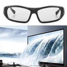 1Pc Passive 3D Glasses Black RD3 Circular Polarized 3D Viewer Cinema Pub Sky Cinema