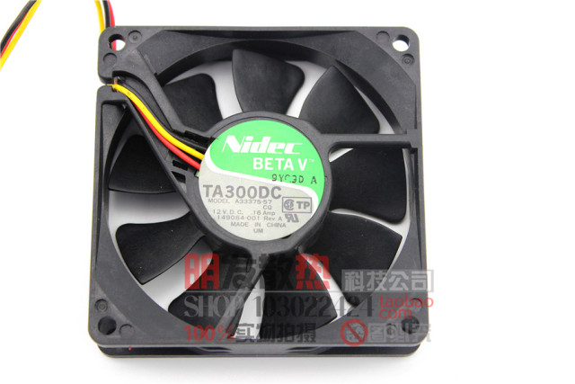 Original authentic 12V 0.16A A33375-57 8020 double ball cooling fan quality assurance