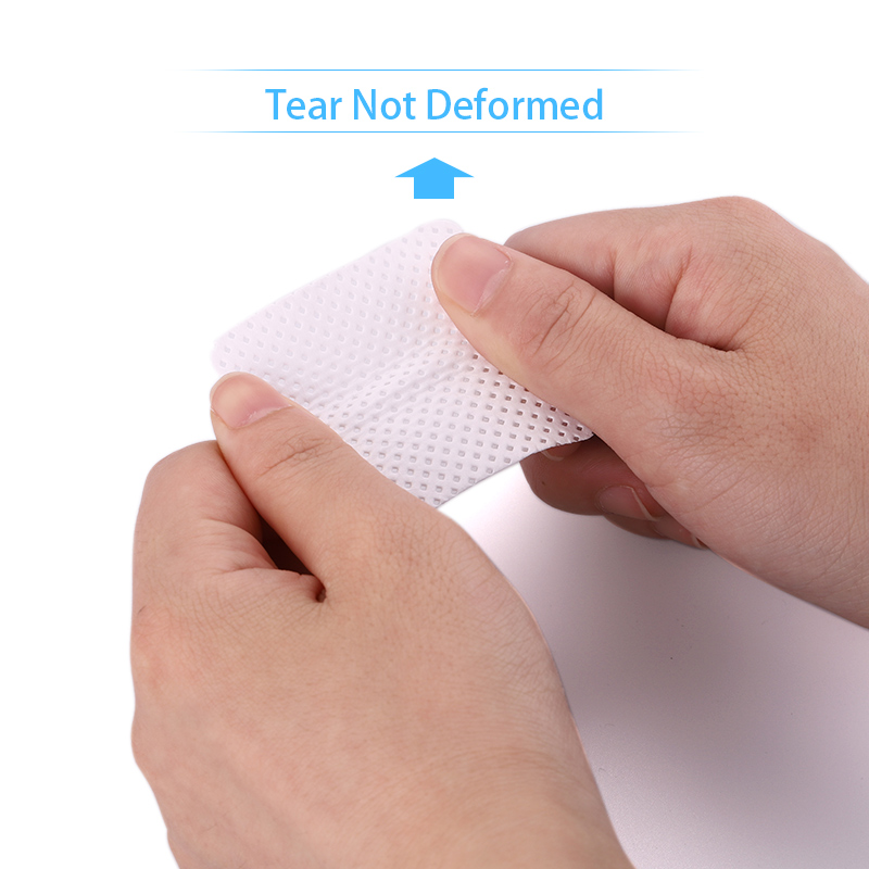 Lint-Free Nail Polish Remover Cotton Wipes UV Gel Tips Remover Cleaner Paper Pad Nails Polish Art Cleaning Manicure Tools 6