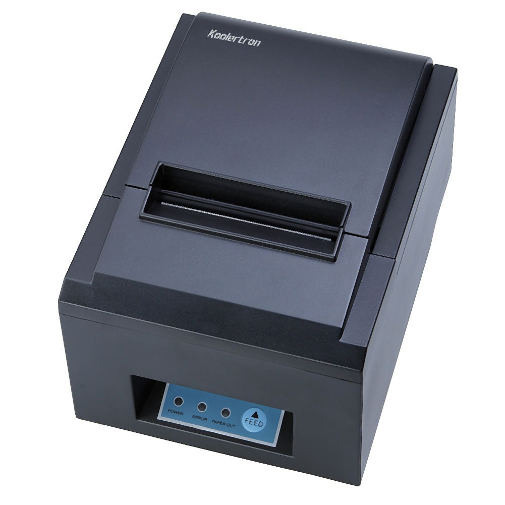 High Speed 80mm POS Thermal Receipt Printer Auto Cutter USB/Ethernet 300mm/s_DHL 300 mm s print speed black 80mm pos thermal receipt printer auto cutter cut windows2000 xp vista 8 10 linux usb ethernet