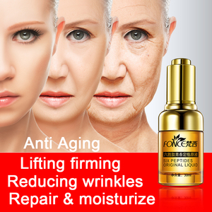 Image 3 - Fonce Anti Wrinkle Remover Facial Serum Plant Anti Aging Lifting Firming Face 25 55 Age Argireline Six Peptides Essence 30ml
