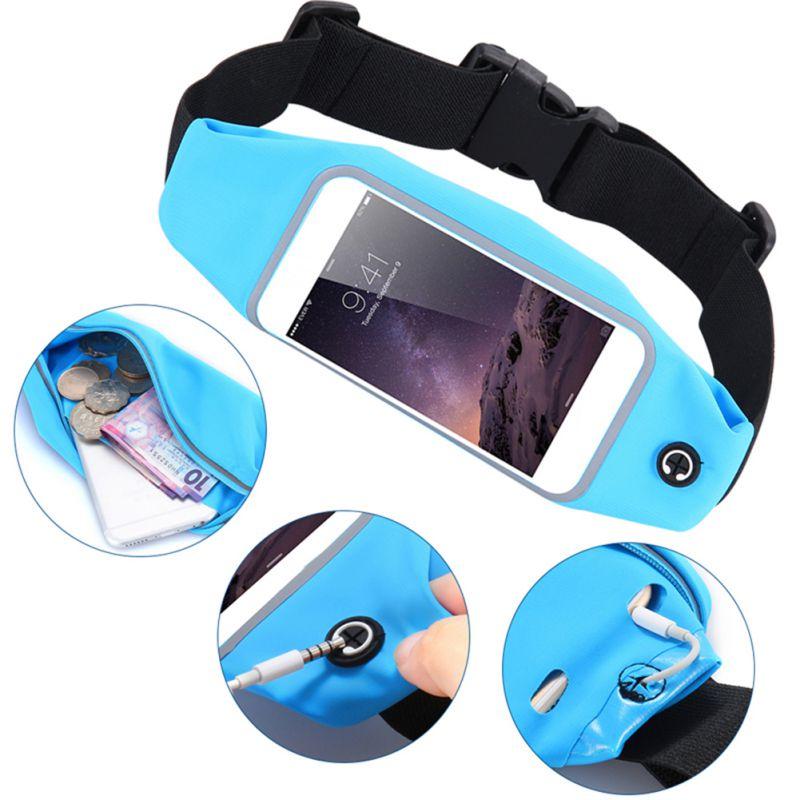 Universal Touch Screen Waterproof Bag Sports Running Waist Pockets Belt Case Phone Bags Cycling Waist Bags