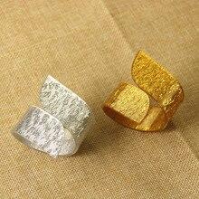 6PCS Napkin Circle Acrylic 8-shaped Ring Wedding Banquet Supplies Buckle Gold/Silver