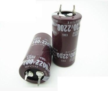 100V 2200UF 2200UF 100V Electrolytic Capacitor 22 45