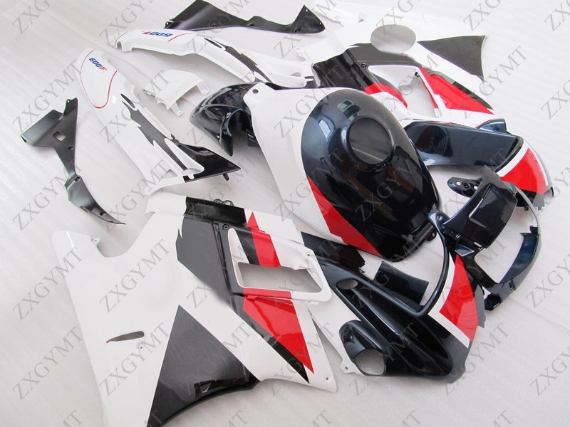 Plastic Fairings CBR600F2 1991 - 1994 White Black Fairing Kits CBR600 F2 1991 Full Body Kits CBR600 F2 91 92Plastic Fairings CBR600F2 1991 - 1994 White Black Fairing Kits CBR600 F2 1991 Full Body Kits CBR600 F2 91 92