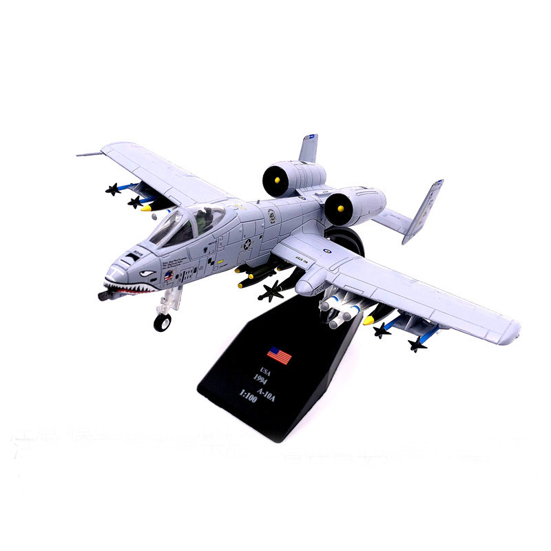 rare Special Offer 1:100 Persian Gulf War Panzer Killer American A-10 Attacker Military simulation model Collection Model image