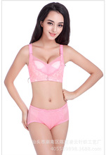 2 Colors Women Fashion Solid Candy Color Modal Push Up Seamless Lingerie Lace Adjustable Intimates Wire Free Underwear Bra 5805