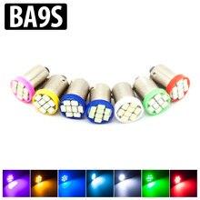 4 шт./лот BA9S T4W 8-1206 SMD LED автомобилей plafonnier бляшек «французские светильники» Прицепы салона DC 12 В сбоку лампа, лампа