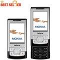 Original del teléfono Nokia 6500 S teléfono celular 3.2MP cámara Bluetooth desbloqueado móvil 6500 Slide envío gratis