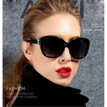 цена на [EL Malus]Fashion Retro Oval Frame Sunglasses UV400 Vintage Women Female Black Red Sun Glasses Brand Designer Eyewear Mirror