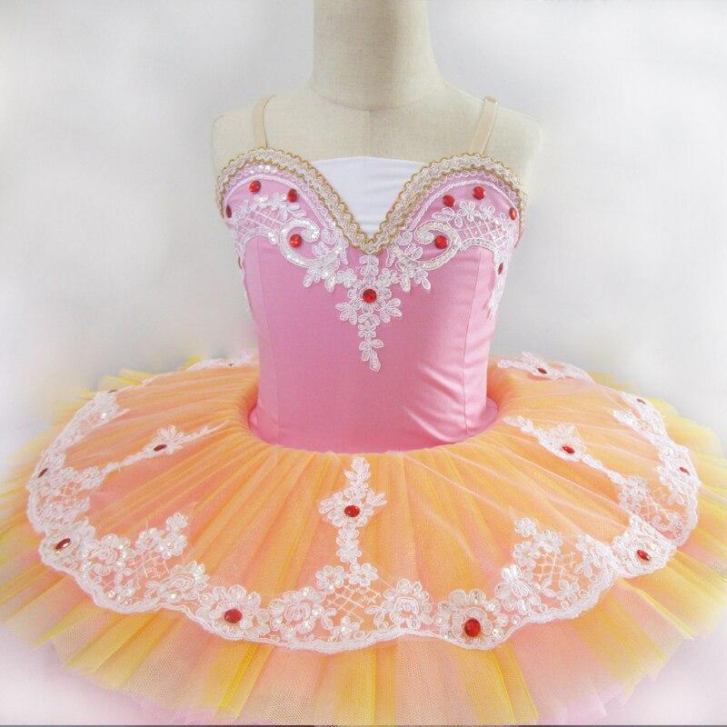 Ballet professionnel tutu enfant lac des cygnes costume de ballet adulte cygne blanc vêtements de ballet pour enfants ballet fille tutu YY10333