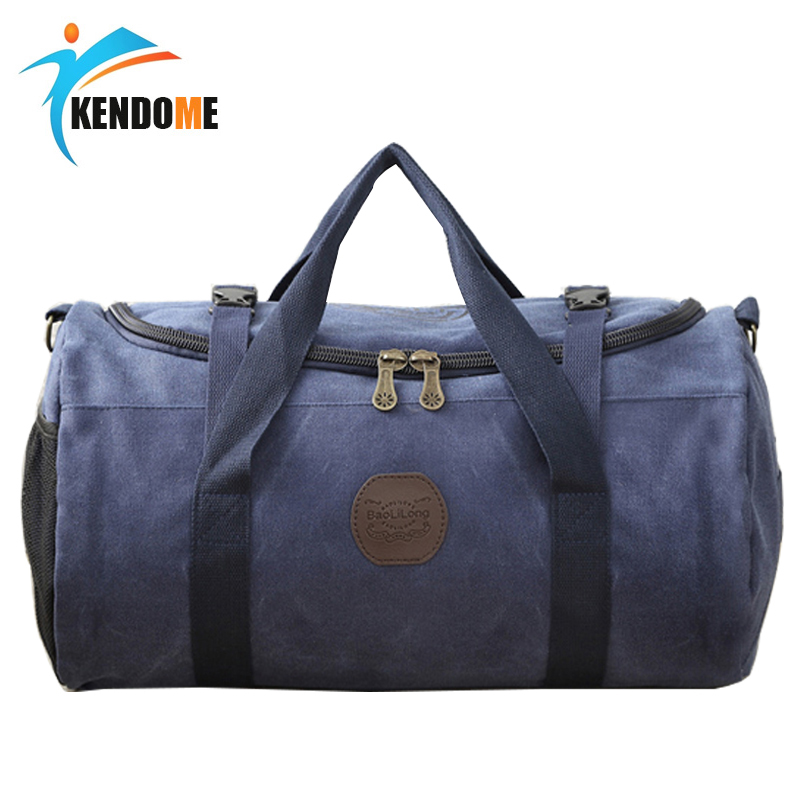 Hot Canvas Sport Bag Training Gym Bag Men Woman Fitness Bags Durable Multifunction Handbag Outdoor Sporting Tote For Male