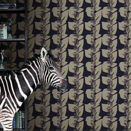 ФОТО Zebra Modern Art  Designer Wallpaper Background Mural papel de parede roll 10m DZK161