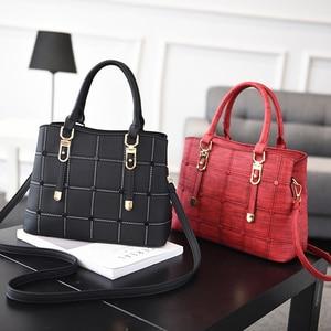 Image 2 - Luxury Handbags Women Bags Designer PU Leather Casual Tote Bag Ladies Hand Bags Women Shoulder Messenger Bag Sac A Main Femme