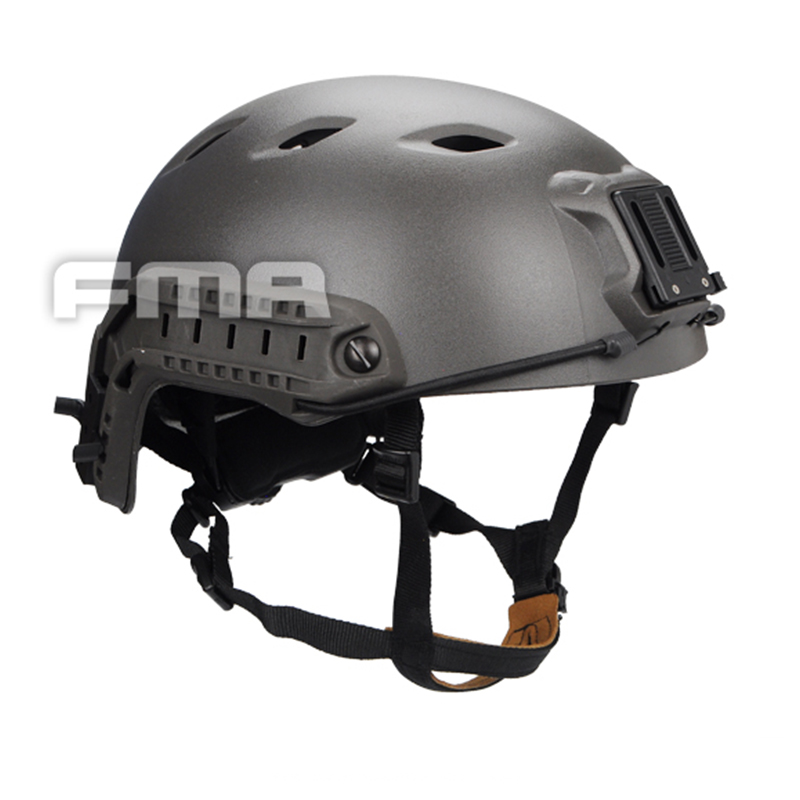 FMA Ballistic Helmet Tactical Fast Helmet For Airsoft Paintball ABS Material Cycling Helmet Mass Grey