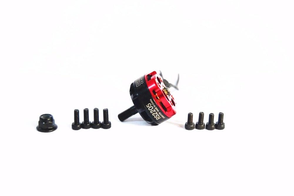 1-4X Racerstar Edition BR2205 D2205 2300KV Brushless Motor 2-4S für 250 260 280